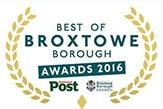Best of Broxtowe Borough Awards 2016